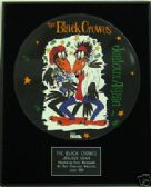 "THE BLACK CROWES -Framed 12"" Picture Disc-JEALOUS AGAIN"
